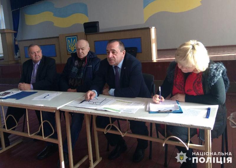 В Покровську відбулись збори покровських ветеранів та пенсіонерів МВС, фото-1