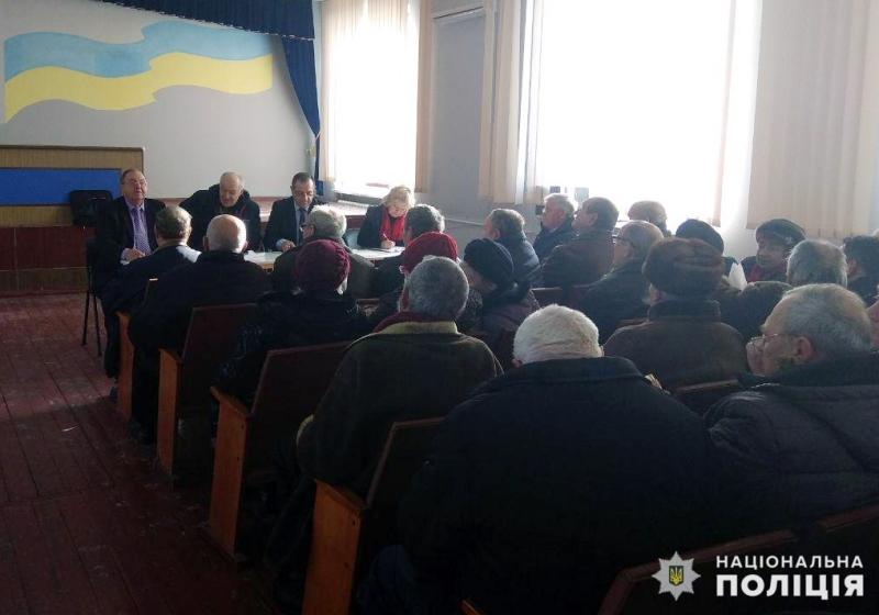 В Покровську відбулись збори покровських ветеранів та пенсіонерів МВС, фото-3
