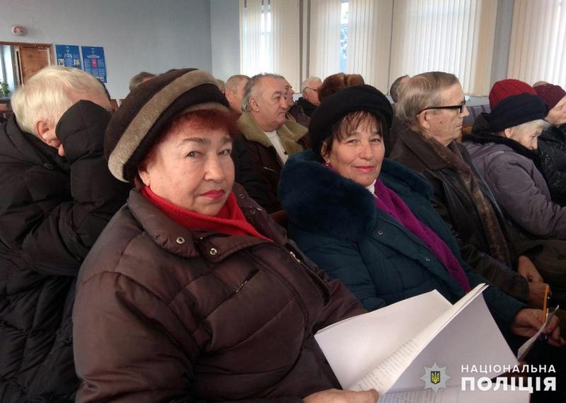 В Покровську відбулись збори покровських ветеранів та пенсіонерів МВС, фото-5