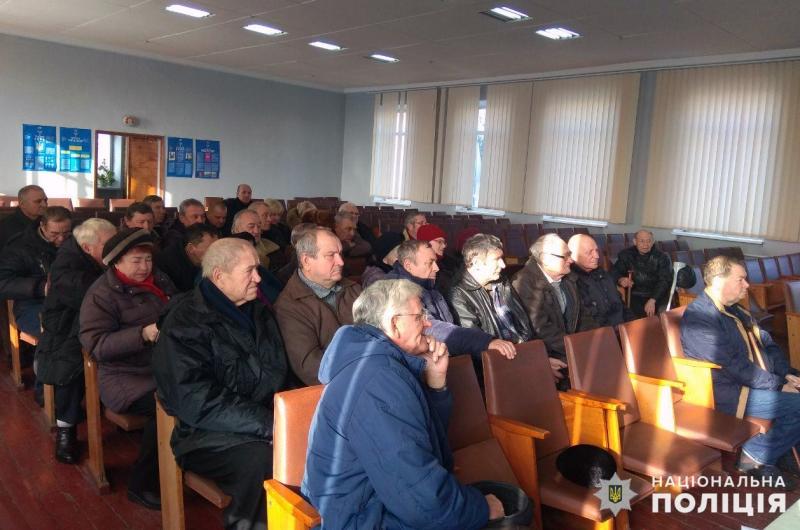 В Покровську відбулись збори покровських ветеранів та пенсіонерів МВС, фото-4