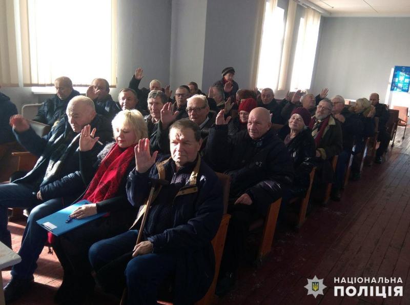 В Покровську відбулись збори покровських ветеранів та пенсіонерів МВС, фото-6