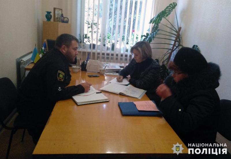 Заступник начальника Покровського відділу поліції провів виїзний прийом громадян у селищі Новоекономічне, фото-1