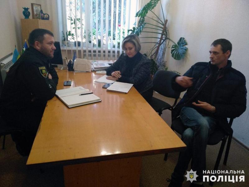 Заступник начальника Покровського відділу поліції провів виїзний прийом громадян у селищі Новоекономічне, фото-2