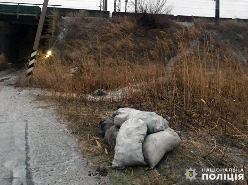 На території залізничної станції Удачна чоловік намагався викрасти 350 кілограмів вугілля, фото-1