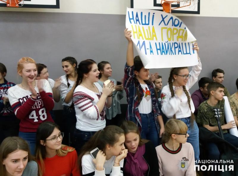 В загальноосвітній школі №9 м.Покровська відбулись змагання шкільних силачів, фото-7