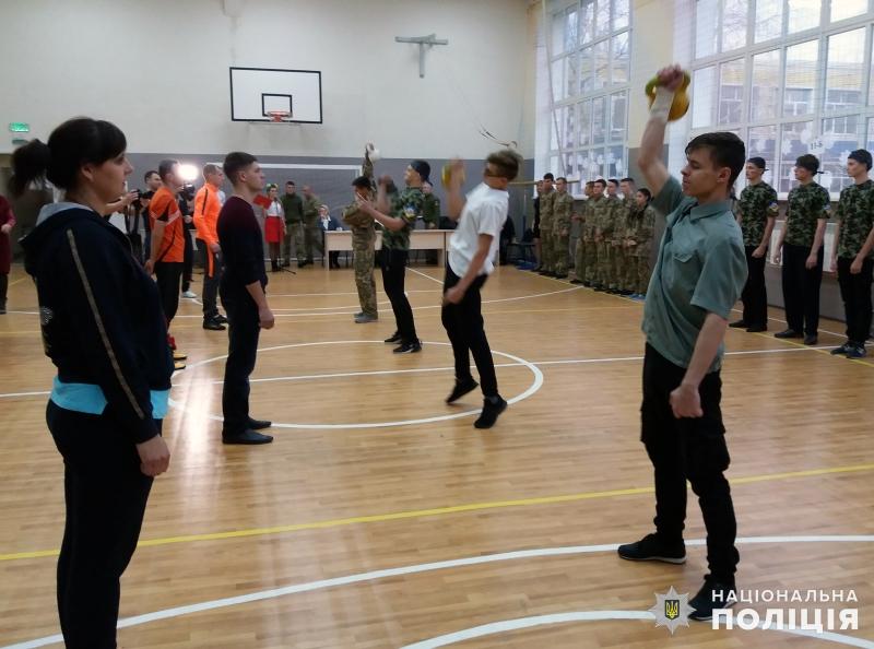 В загальноосвітній школі №9 м.Покровська відбулись змагання шкільних силачів, фото-9