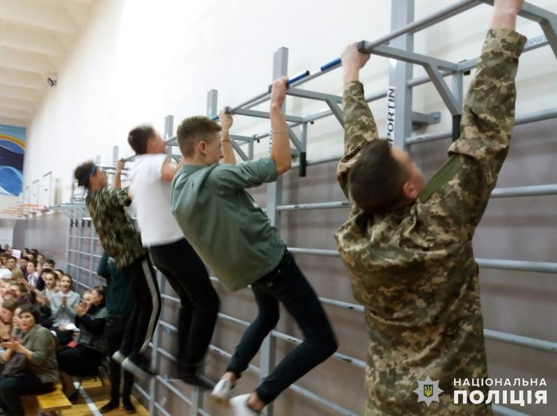 В загальноосвітній школі №9 м.Покровська відбулись змагання шкільних силачів, фото-8