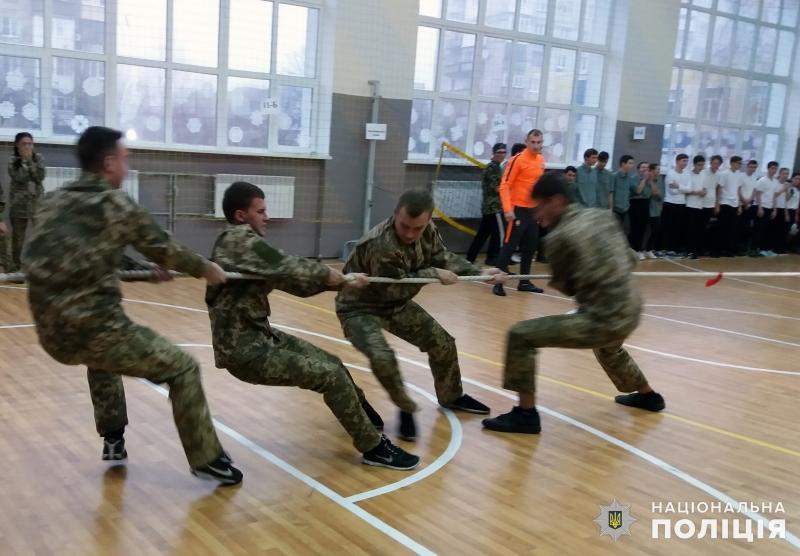В загальноосвітній школі №9 м.Покровська відбулись змагання шкільних силачів, фото-5