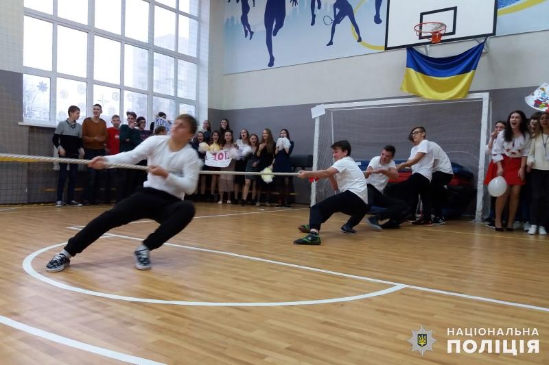 В загальноосвітній школі №9 м.Покровська відбулись змагання шкільних силачів, фото-6