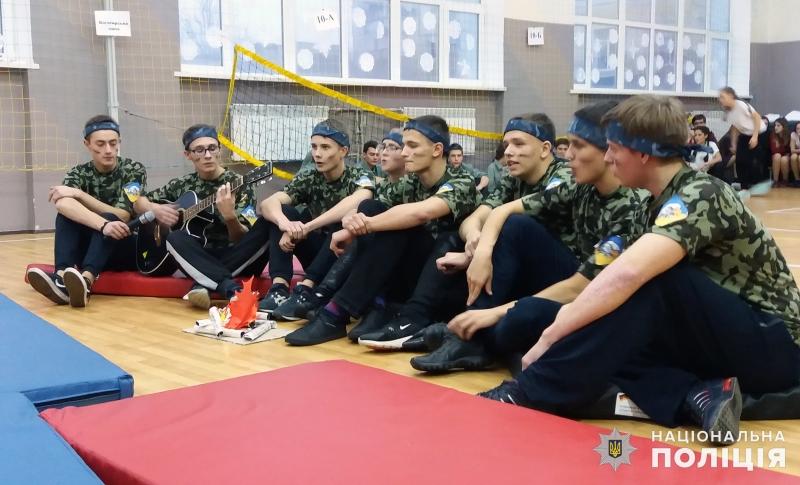 В загальноосвітній школі №9 м.Покровська відбулись змагання шкільних силачів, фото-13