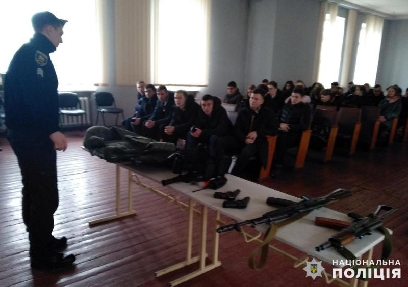 Старшокласники Покровська завітали в гості до місцевих правоохоронців, фото-3