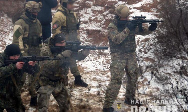 На Донеччині відбулися польові навчання для керівників територіальних підрозділів поліції , фото-1