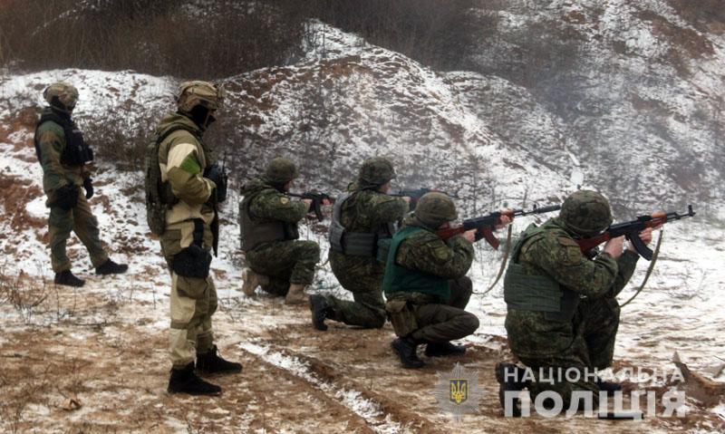 На Донеччині відбулися польові навчання для керівників територіальних підрозділів поліції , фото-10