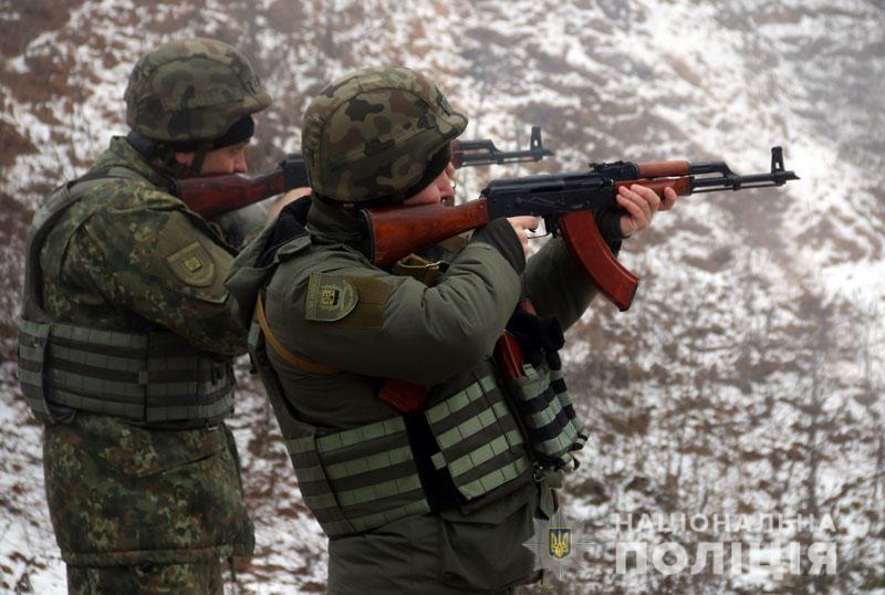 На Донеччині відбулися польові навчання для керівників територіальних підрозділів поліції , фото-11