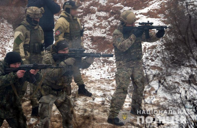 На Донеччині відбулися польові навчання для керівників територіальних підрозділів поліції , фото-12