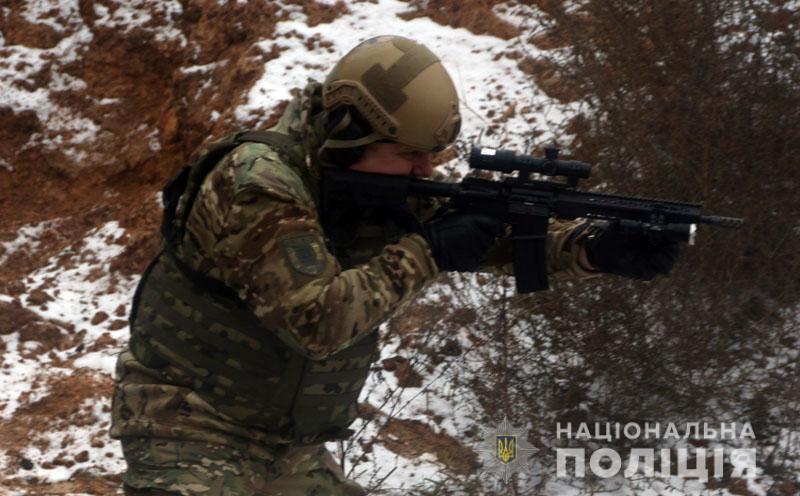 На Донеччині відбулися польові навчання для керівників територіальних підрозділів поліції , фото-13