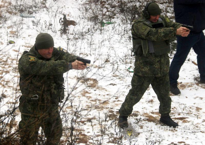 На Донеччині відбулися польові навчання для керівників територіальних підрозділів поліції , фото-14