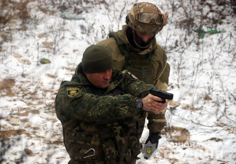 На Донеччині відбулися польові навчання для керівників територіальних підрозділів поліції , фото-15