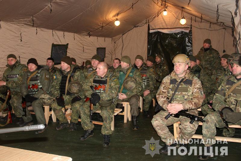 На Донеччині відбулися польові навчання для керівників територіальних підрозділів поліції , фото-18