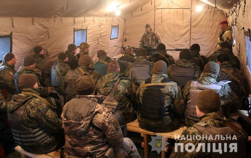 На Донеччині відбулися польові навчання для керівників територіальних підрозділів поліції , фото-19