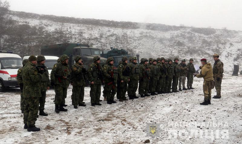 На Донеччині відбулися польові навчання для керівників територіальних підрозділів поліції , фото-2