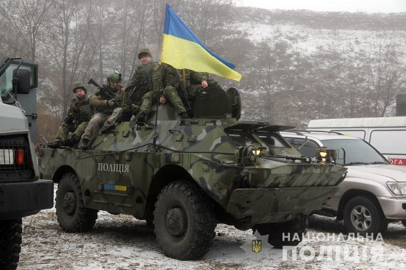 На Донеччині відбулися польові навчання для керівників територіальних підрозділів поліції , фото-5