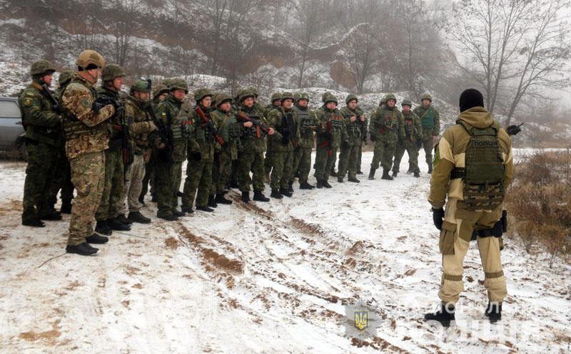 На Донеччині відбулися польові навчання для керівників територіальних підрозділів поліції , фото-6