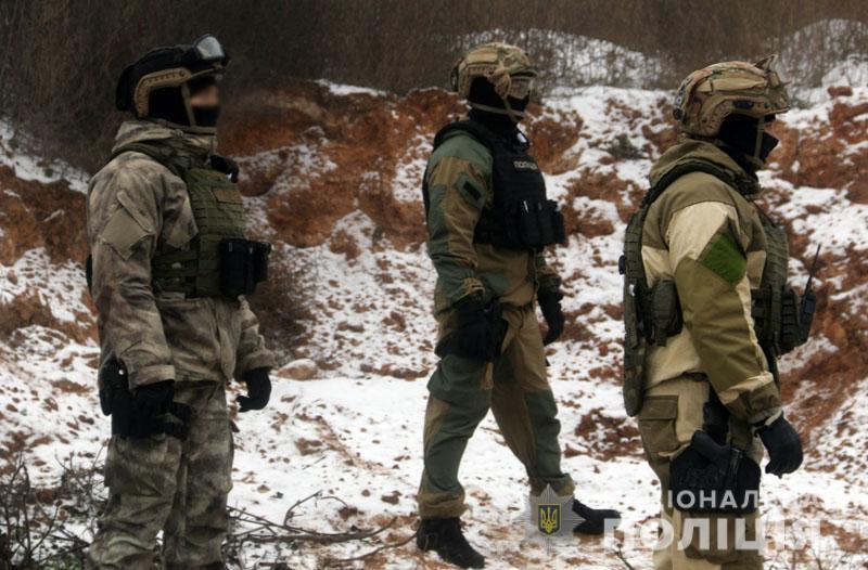 На Донеччині відбулися польові навчання для керівників територіальних підрозділів поліції , фото-9