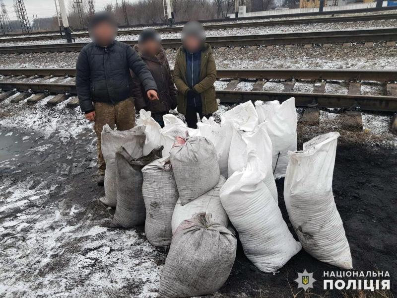 Протягом святкових днів співробітниками поліції Покровська попереджено три спроби крадіжки вугілля, фото-3