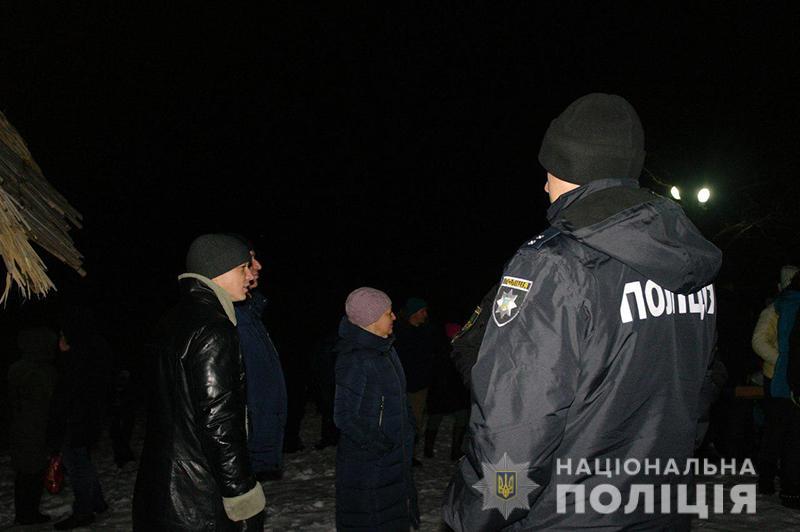 Водохреще проходить без надзвичайних подій: поліція забезпечує безпеку у місцях богослужінь, фото-1