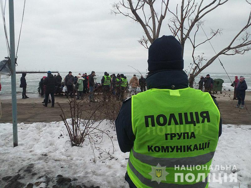 Водохреще проходить без надзвичайних подій: поліція забезпечує безпеку у місцях богослужінь, фото-9