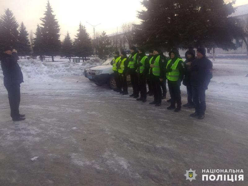 Посилені наряди поліції Покровська та Мирнограда приступили до забезпечення правопорядку у вихідні, фото-8