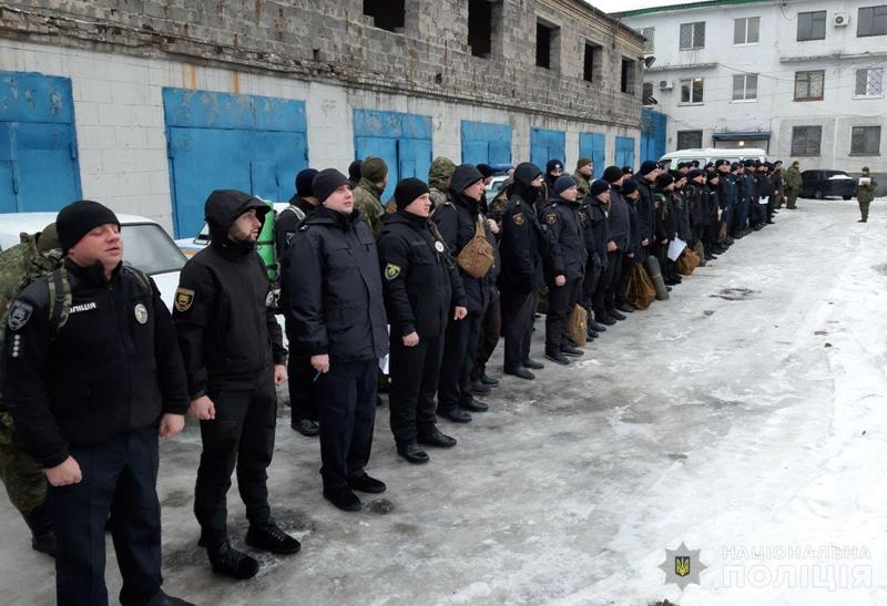 Покровські правоохоронці пройшли перевірку на боєготовність, фото-1