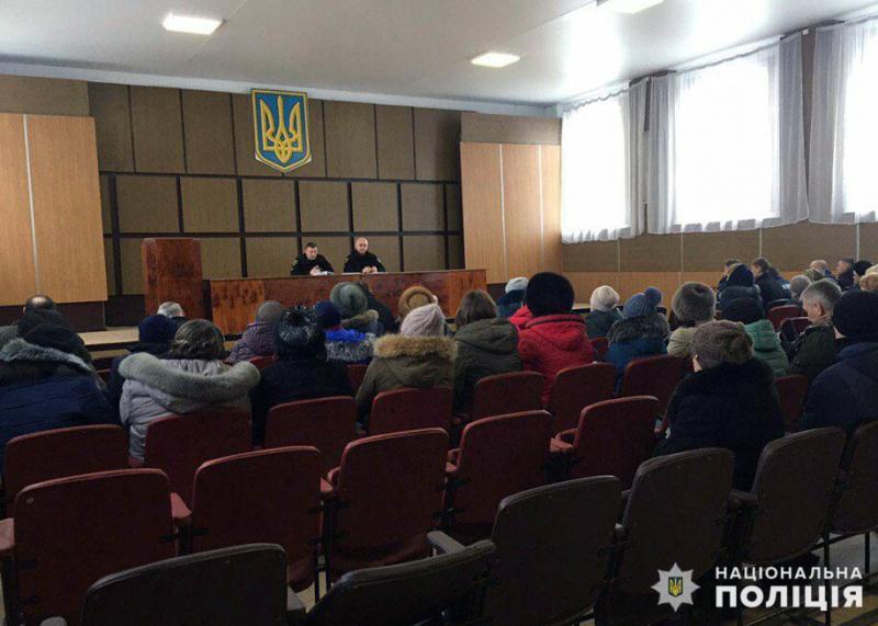 Керівництво Мирноградського відділення поліції відзвітувало про результати роботи у минулому році та у січні 2019 року, фото-1