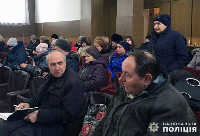 Керівництво Мирноградського відділення поліції відзвітувало про результати роботи у минулому році та у січні 2019 року, фото-6