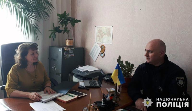 Керівник поліції Мирнограду провів робочу зустріч із заступником мера міста, фото-1