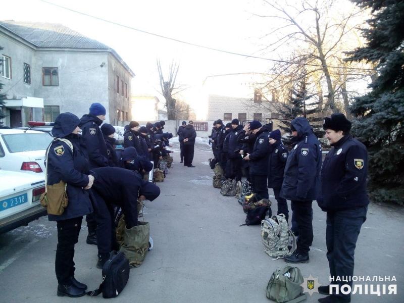 У поліції Мирнограду перевірили боєготовність, фото-2