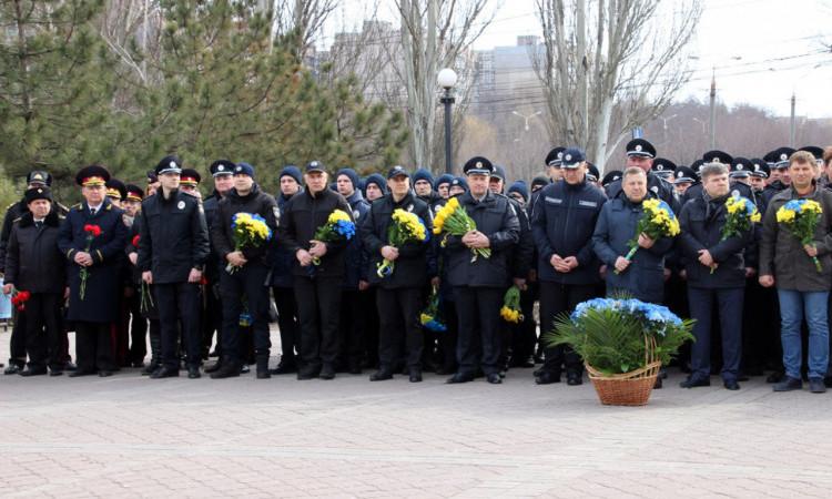 Поліція Донеччини долучилася до міжнародного флешмобу «Великий Шевченко», фото-1
