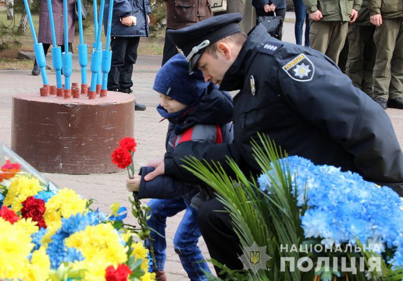 Поліція Донеччини долучилася до міжнародного флешмобу «Великий Шевченко», фото-11