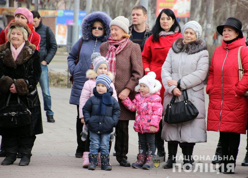 Поліція Донеччини долучилася до міжнародного флешмобу «Великий Шевченко», фото-13