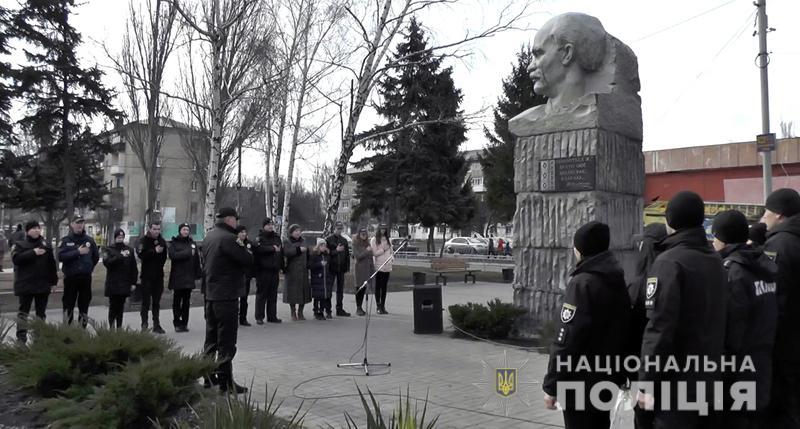 Поліція Донеччини долучилася до міжнародного флешмобу «Великий Шевченко», фото-18