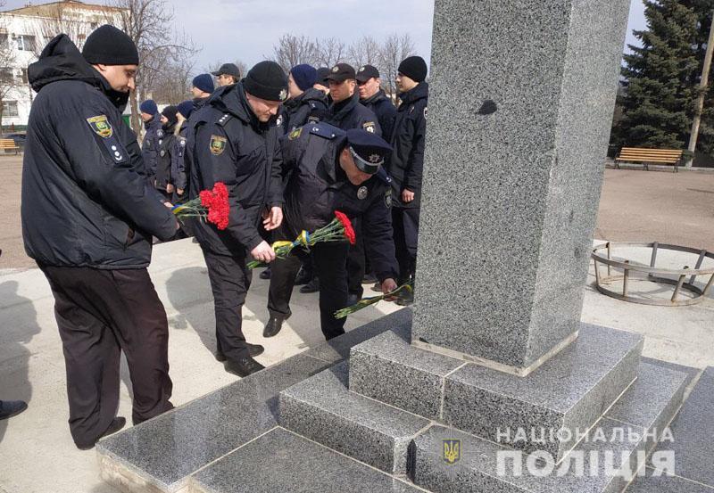 Поліція Донеччини долучилася до міжнародного флешмобу «Великий Шевченко», фото-23