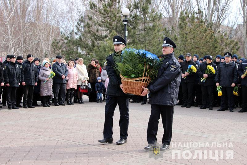 Поліція Донеччини долучилася до міжнародного флешмобу «Великий Шевченко», фото-7