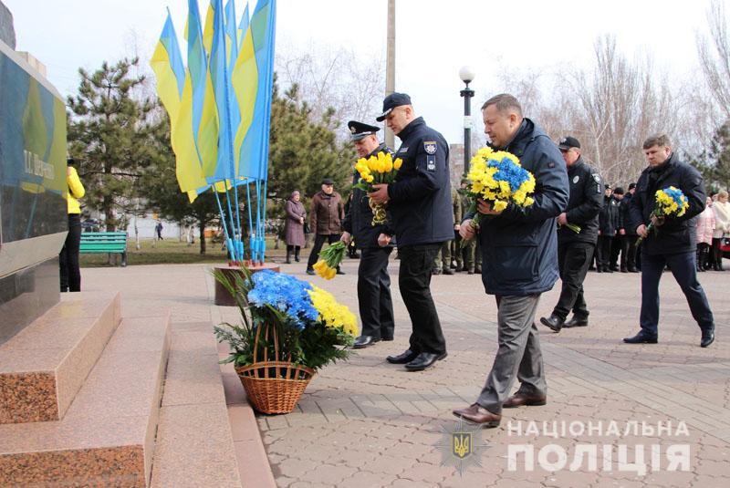 Поліція Донеччини долучилася до міжнародного флешмобу «Великий Шевченко», фото-9