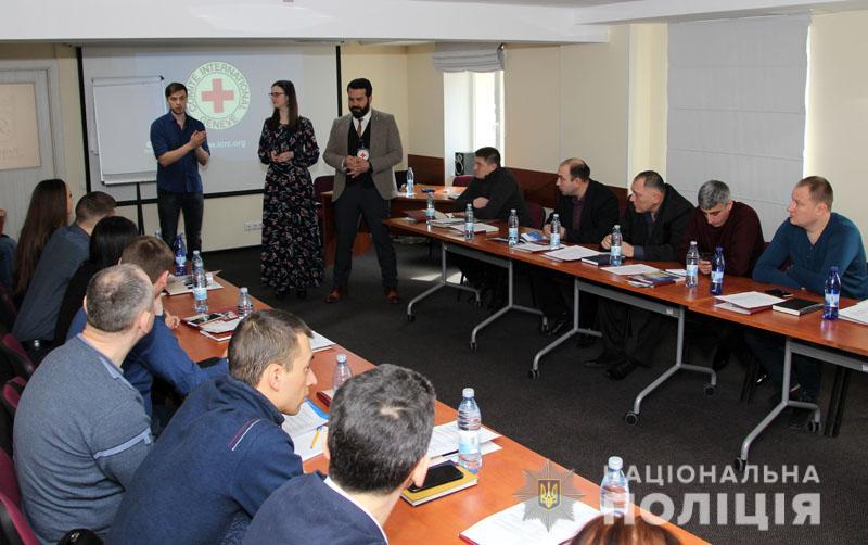 Поліцейські Донеччини пройшли дводенний тренінг з міжнародних стандартів та правил правоохоронної діяльності, фото-1