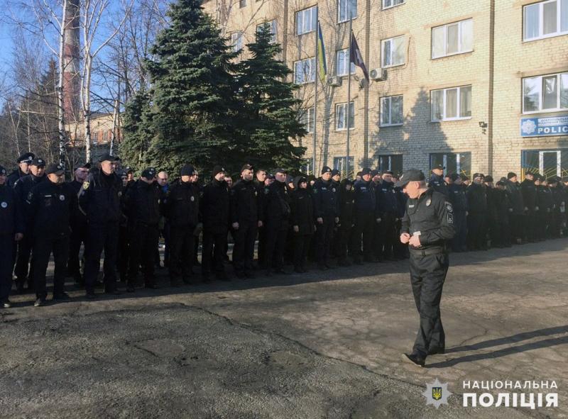 Особовий склад поліції Добропілля перевірено на боєготовність, фото-3