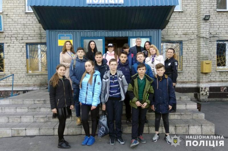 Добропільським школярам показали як працює поліція, фото-1