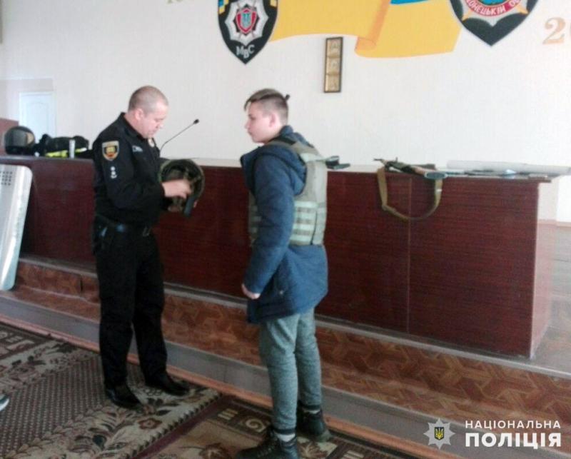 Добропільським школярам показали як працює поліція, фото-5