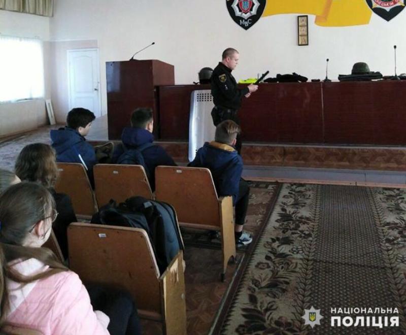 Добропільським школярам показали як працює поліція, фото-6