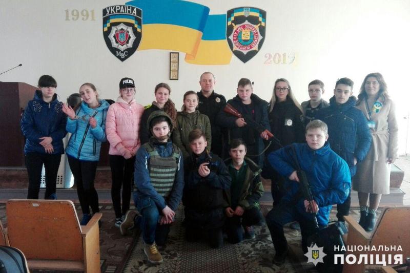 Добропільським школярам показали як працює поліція, фото-7